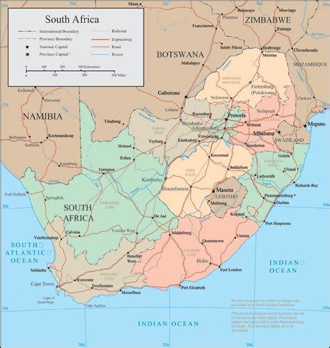 vector map south africa south africa vector maps