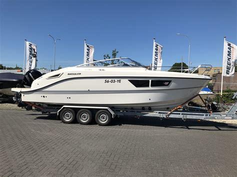 quicksilver boten nl beekman watersport afgeleverde boten
