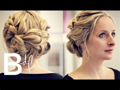 bridesmaid hair tutorial the updo