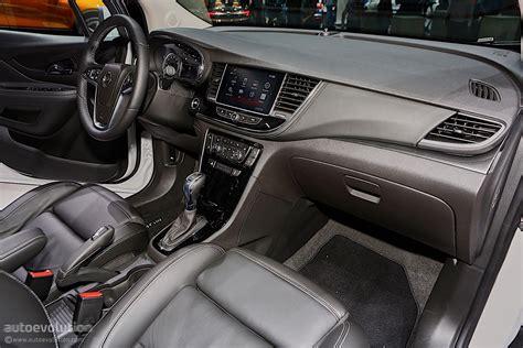 opel mokka interior 2017 2016 opel mokka x shows off in geneva autoevolution