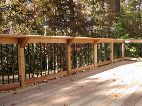 Patio Railing Designs 25 Best Ideas About Wood Deck Designs On Pinterest Patio Deck Designs Deck Design And