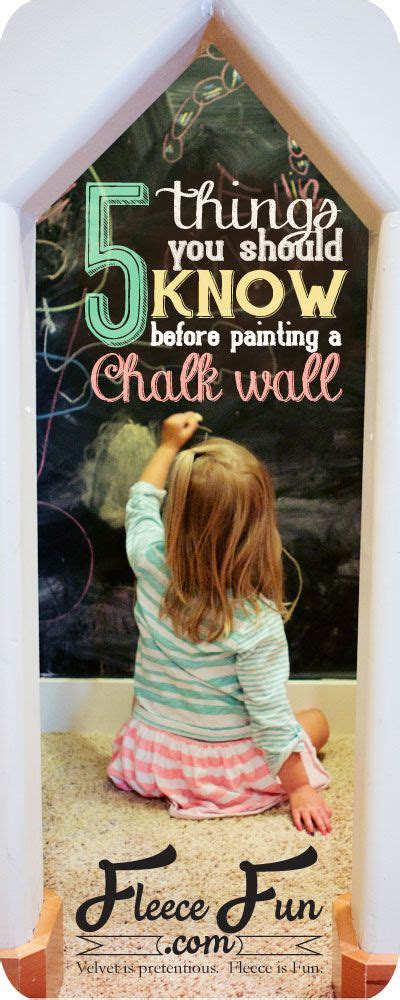 what to know before you paint your walls white 5 things you should know before painting a chalkboard wall