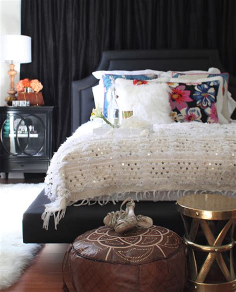 bedroom pouffe moroccan style 171 le blog