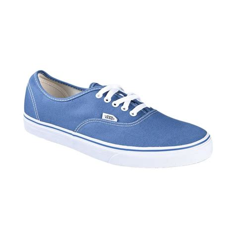 Vans Authentic Pria Nevy jual vans u authentic sneaker navy vn000ee3nvy