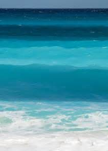 the sea colors shades of blue
