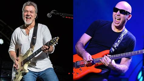 eddie van halen vs joe satriani joe satriani reveals he would love a g3 with eddie van