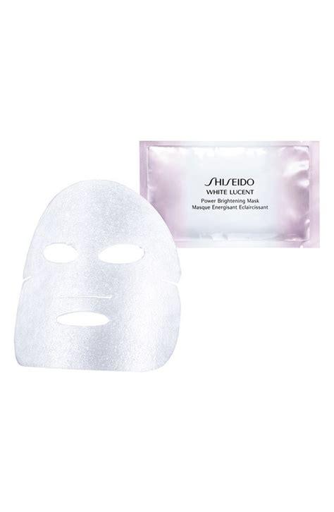 Shiseido Intensive Brightening Mask shiseido benefiance wrinkleresist24