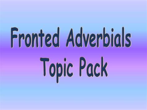 powerpoint tutorial ks2 ks1 ks2 sen ipc literacy grammar fronted adverbials