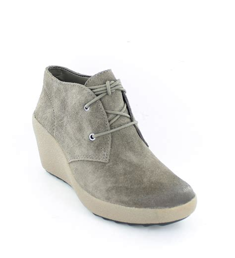 clarks wedge ankle boots melody ebay