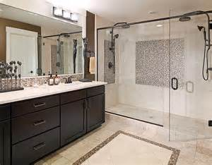 Master Bath With Shower Only Featured Community Belvedere At Bellevue Washington