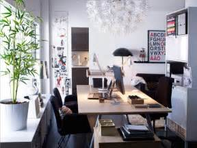 Office Workspace Design Ideas Scandinavian White Home Office Space Interior Design Ideas