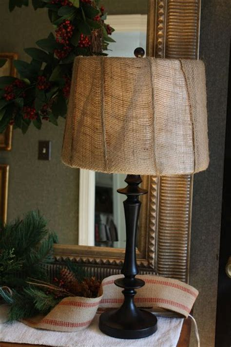 Recover L Shade by Best 25 Burlap L Shades Ideas On