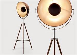 Beach House Kitchen Design chic tripod floor lamps from made