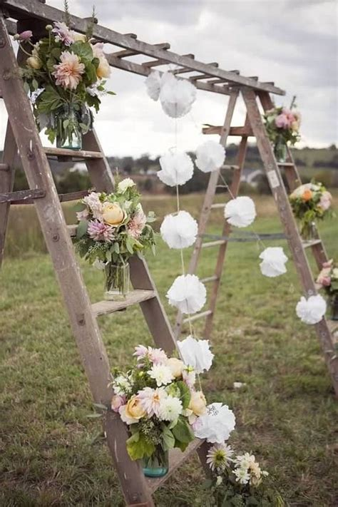 diy outdoor wedding decor ideas awesome diy vintage outdoor wedding ideas diycraftsguru