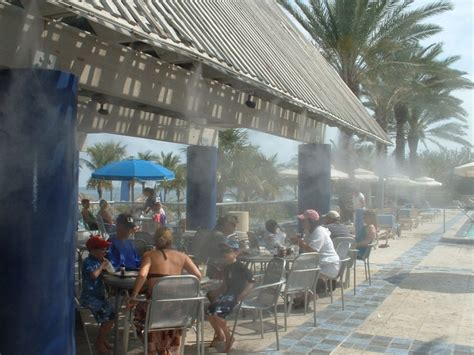 backyard misting systems restaurants and resorts applications patio misting systems mist fans fog systems