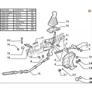 Fiat Ducato Exhaust System Diagram Gear Linkage Cable Fiat Ducato