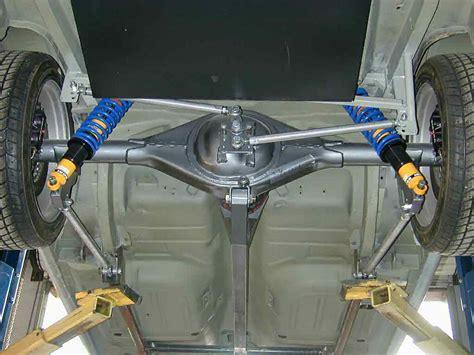 car rear suspension 69 gr 350 open track auto cross
