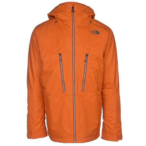 Jacket Jaket Cowok Orange Oranye the thermoball snow triclimate mens insulated ski jacket 2018