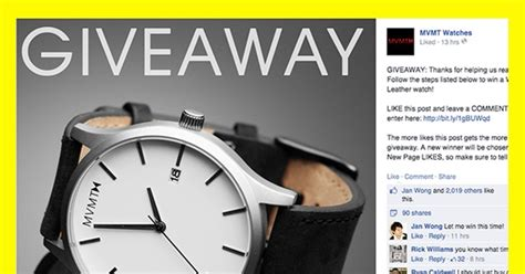 Giveaway Ideas For Facebook - 9 facebook giveaway ideas that won t break the bank