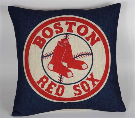 Boston Sox Pillow Cases by Boston Sox Pillow Cover Decor Pillow Cover By