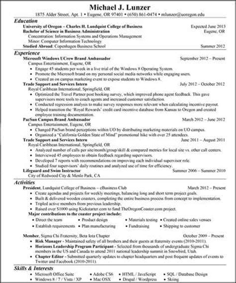 advertising coordinator resume exle preview