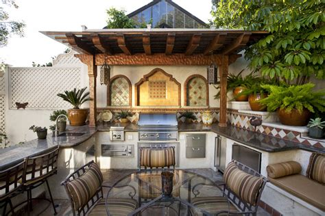 Outdoor Kitchens Pictures Designs 95 Cool Outdoor Kitchen Designs Digsdigs