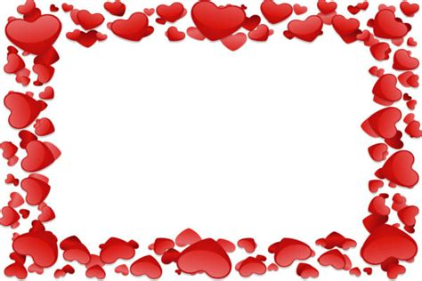 cornici cuori biglietti san valentino da stare con cuori e cornici
