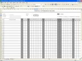 template for attendance register 5 attendance register templates excel xlts