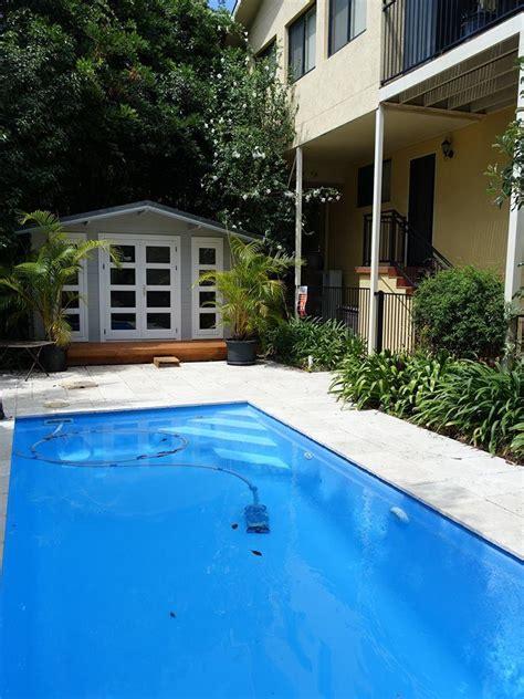 backyard cabins victoria backyard cabin crete as pool house central coast yzy kit homes
