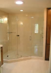 walk in shower enclosure your model home