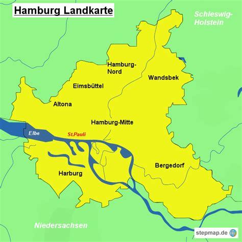 Deutsches Büro Grüne Karte Hamburg by Hamburg Landkarte Landkarten Landkarte F 252 R Hamburg
