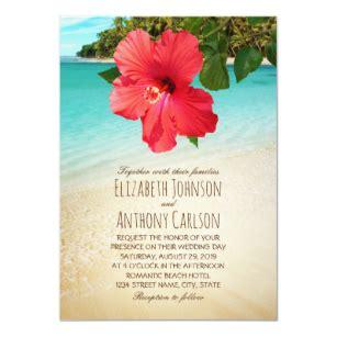 hawaiian theme invitations zazzle