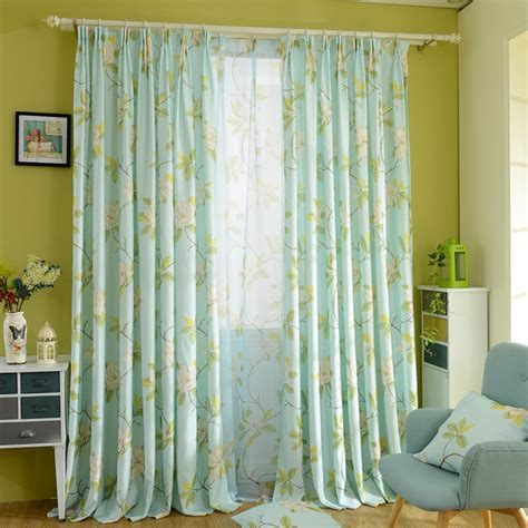 lime green bedroom curtains lime green floral print poly cotton blend country long