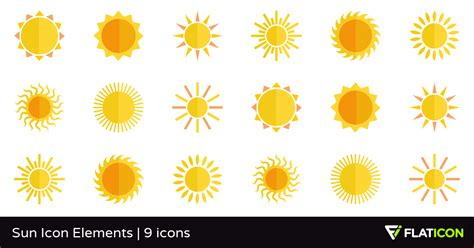 Home Design Unlimited Sun Icon Elements 9 Free Icons Svg Eps Psd Png Files