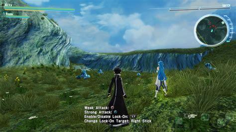 Kaset Ps4 Accel World Vs Sword accel world vs sword ps4 vs vita screenshot comparison