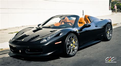 Wheels 458 Spider Kuning 458 spider with custom wheels cec los angeles