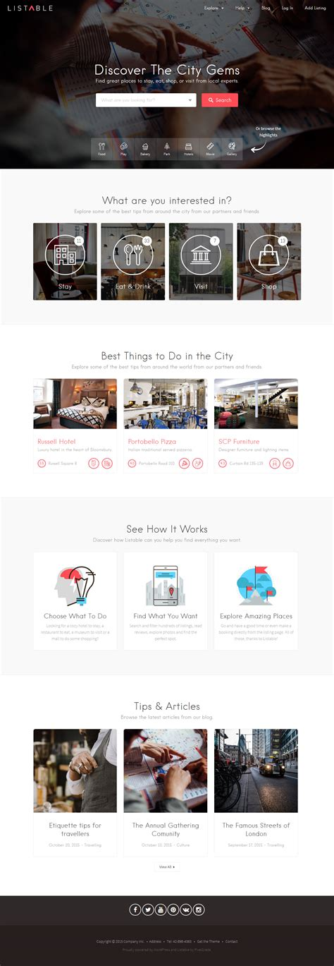 listable theme 35 best wordpress directory listing themes 2017