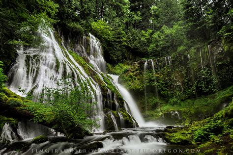 Washington State Number Search Panther Falls Gifford Pinchot National Forest Skamania County Washington State