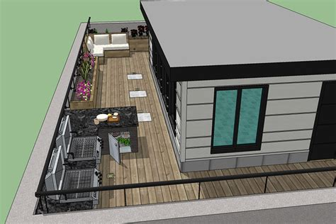rooftop deck design rooftop deck design service montreal outdoor living