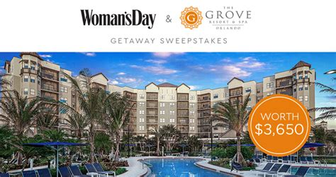 Women S Day Sweepstakes - woman s day orlando getaway sweepstakes 2018