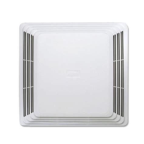 hvi 2100 bathroom fan shop broan 4 sone 110 cfm white bathroom fan at lowes com