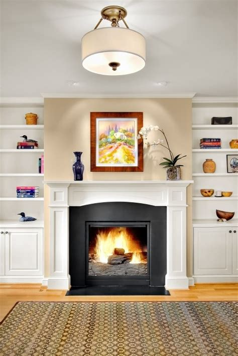 Built Ins Fireplace by Gas Fireplace W Built Ins For The Home