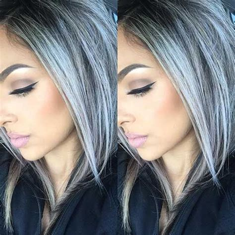 coloring hair gray trend name 25 new gray hair color pinteres