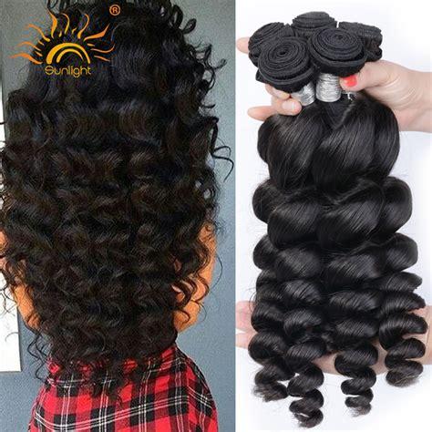 body wave vs loose wave hair extension aliexpress com buy 4 bundle deals 8a unprocessed virgin