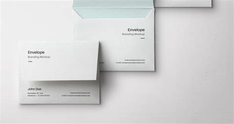 Présentation Lettre Enveloppe Envelope Letter Psd Mockup Vol3 Psd Mock Up Templates Pixeden