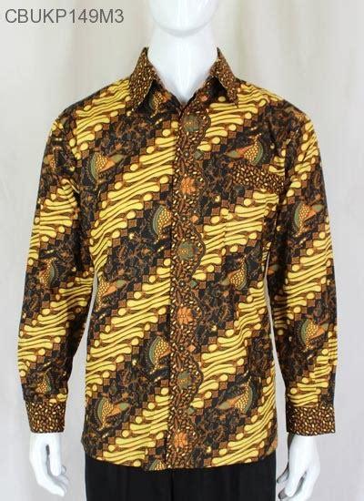 Kemeja Batik Lengan Panjang Parang by Kemeja Batik Panjang Motif Parang Kemeja Lengan Panjang