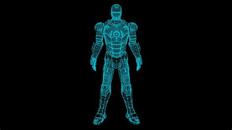 iron man hologram suit test cinema effects