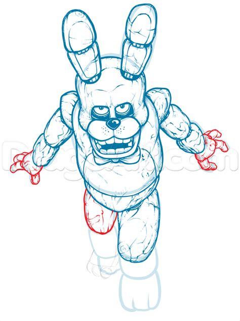 How To Draw Shadow Bonnie