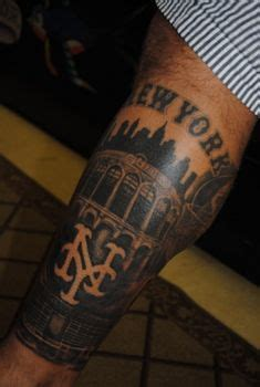 ny mets tattoo cool ny mets and citi field sports team tattoos