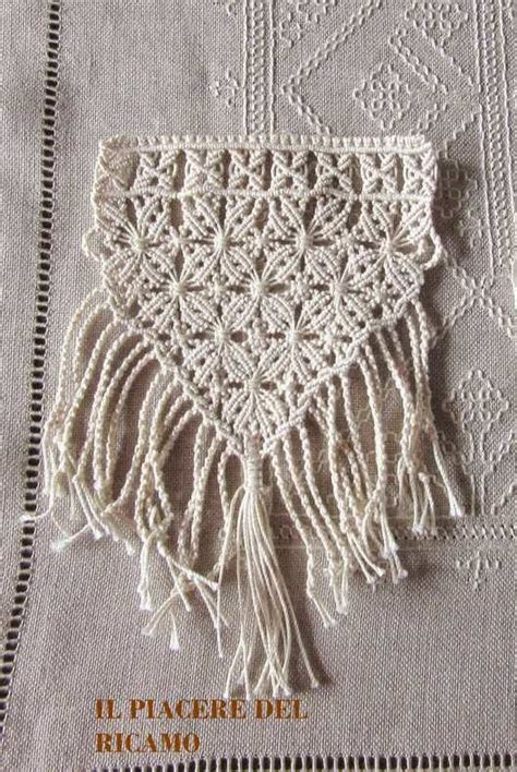 17 best images about macrame knotted lace on micro macrame tutorial macrame